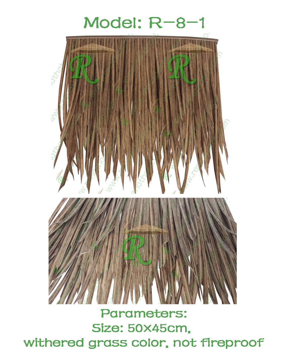 Synthetic Thatch R-8-1